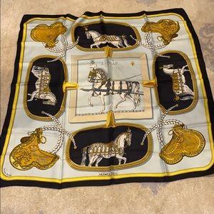 100% authentic vintage Hermès scarf